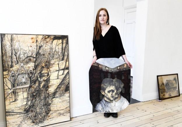 Julia Olofsson från Karlstad ställer ut.
